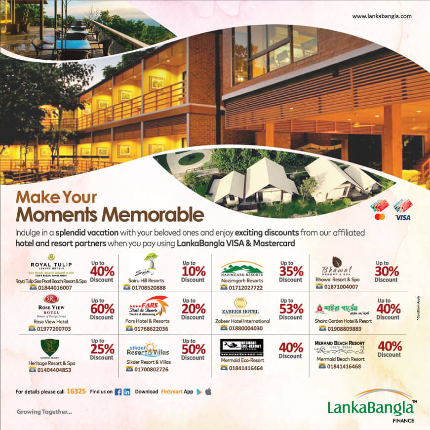Make Your Moments Memorable – Enjoy Exciting Discounts at Hotel & Resorts