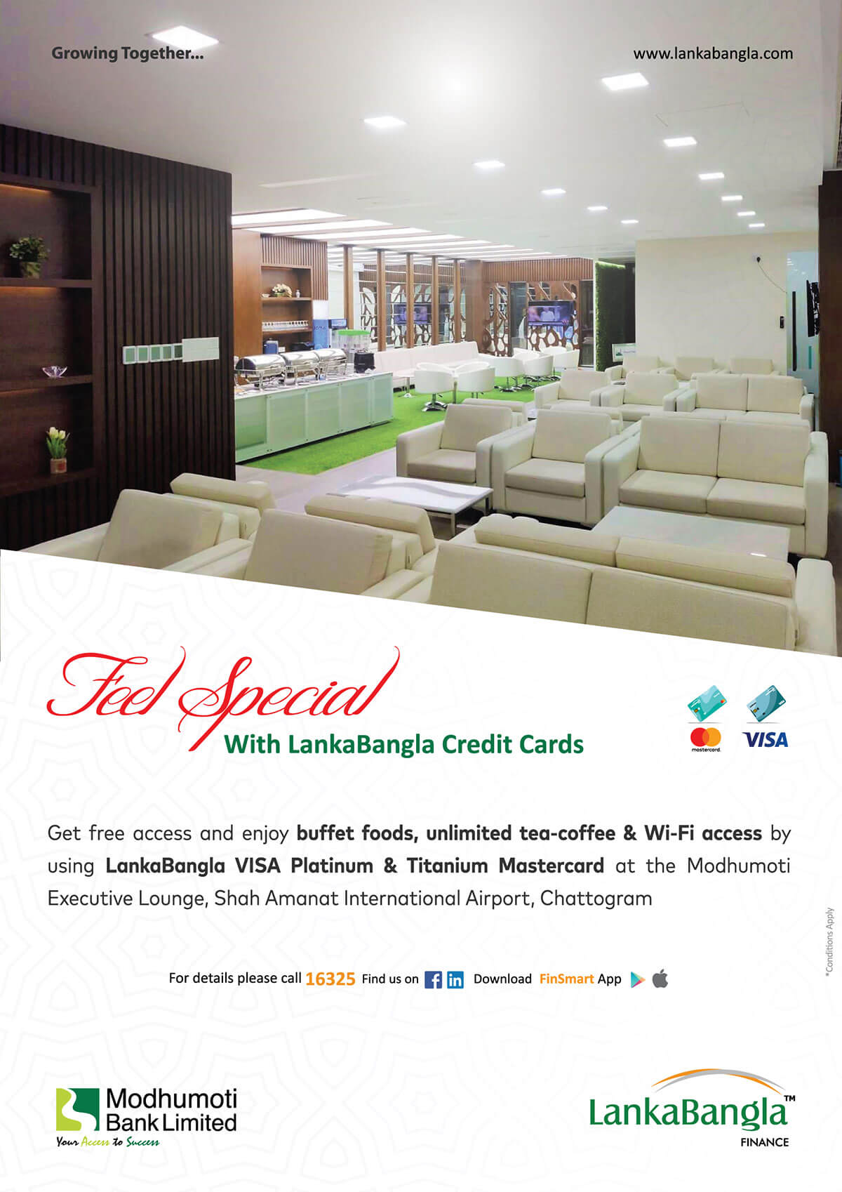 Feel Special With LankaBangla Credit Cards
